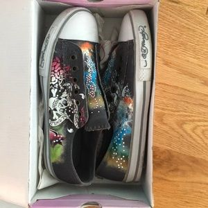 Ed HaRDy slip ons jupitar low rise🌠